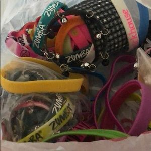 Miscellaneous Zumba bracelets; some brand new